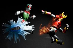 First of Showa and Heisei by phtoygraphy
