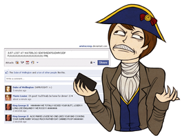 Facebook - Napoleon Waterloo by ARISTOCREEP