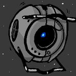 Wheatley doodle by gabsters109