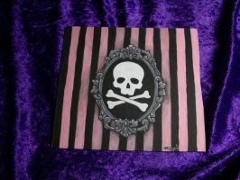 Pink Stripes and Death by tragicbat