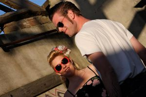 Rockabilly Love by webworm