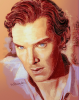 Benedict Cumberbatch-05 by BlueZest