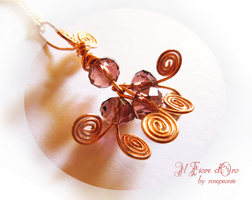 Medusa's Heart pendant (with necklace) by rosepeonie
