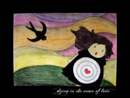 dying in the name of love by MSLucy