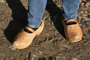 Sunday-best clogs by Dewfooter