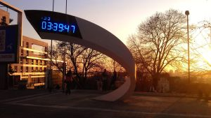 The Olympic Clock - Belgrade by uros3D
