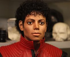 Michael Jackson Thriller bust version 1 DONE by godaiking