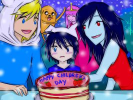 Contest Entry: Happy Children's Day! (Finnceline) by kuraikitsune13