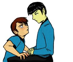 RP - Spock and McCoy by ShiniShiChan