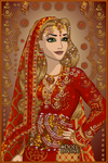 Lannister sari by goat1200