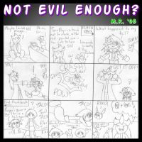 Not Evil Enough? by purplelemon