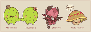 MAGE: Tricore Monsters by creamboys