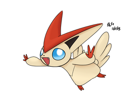 Victini by brittoniawhite