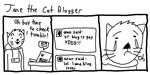 jane the cat blogger by TheLatinoAsian
