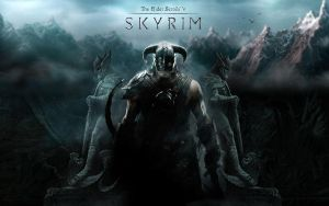 TESV Skyrim wallpaper by Revan1337