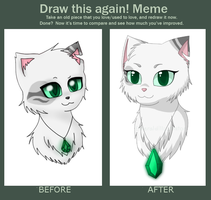 Redraw Meme by EmeraldIllustrator