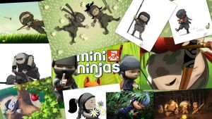 Mini Ninjas Collage by kutnermd5