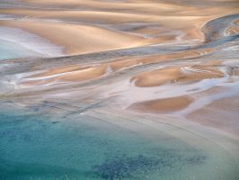 Sand and sea by piglet365