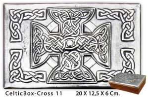 Celtic Cross Box 11B by arteymetal