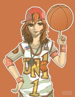 UNO basketball gerl by buang