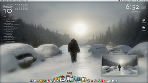 My iMac Desktop by gillon