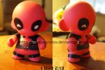 The Munny with a Mouth by TonomuraBix