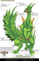 Pokedex 254 - Sceptile FR by Pokemon-FR