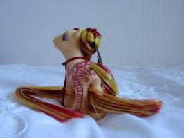 custom my little pony Red Henna pony 3 by thebluemaiden