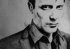 Mads Mikkelsen by allonsyx