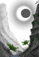 Environment Study 'Eclipse' by adimatters