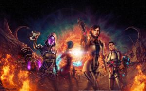 Mass Effect - EndGame v2 by WillhelmKranz
