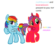 rianbow mission cover by loverainicorn