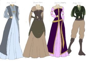 Fantasy Fashions 1 by amwoolsey94