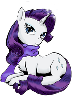 Rarity the Fabulous by MystressCrowler