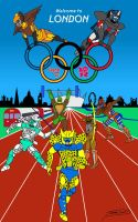 Welcome to London 2012 by Jaggid-Edge