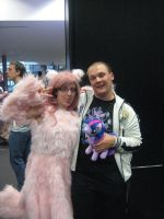 Me and  Fluffle by Juu50x