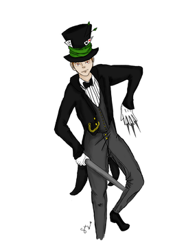 Mad Hatter by iggyasia