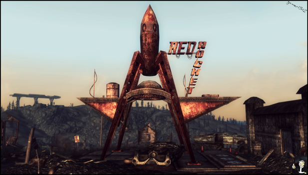 Fallout3 Red rocket by gamer1312