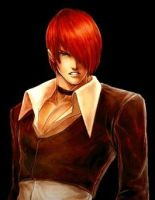 Iori Yagami Portrait - My made by masterelite997