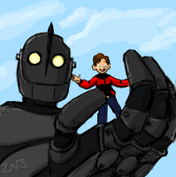 Iron Giant for draw something by zachjacobs