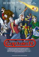 Captain N Poster by N-ZERO