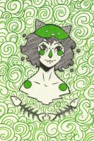 Nepeta from sketchbook by YunonaD