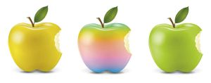 apple icons by MelissaReneePohl