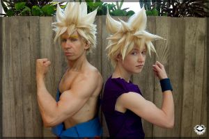 Goku and Gohan- Father and Son by twinfools