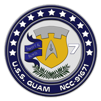 USS Guam Patch by sparrow794