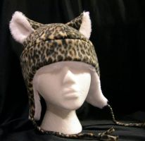 Leopard Hat by kittyhats