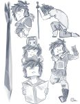Little sketches #7 by cristhina64