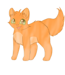 Chibi Firestar by Storm-The-Kitty
