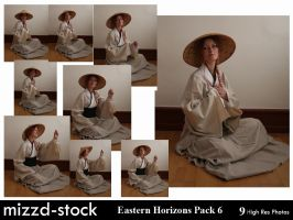 Eastern Horizons Pack 6 by mizzd-stock