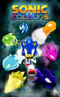 Sonic Colours Wisp Forms by Andrelevydeoliveira